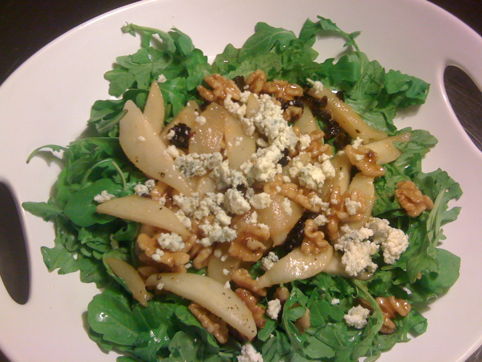Sauteed Pear Salad