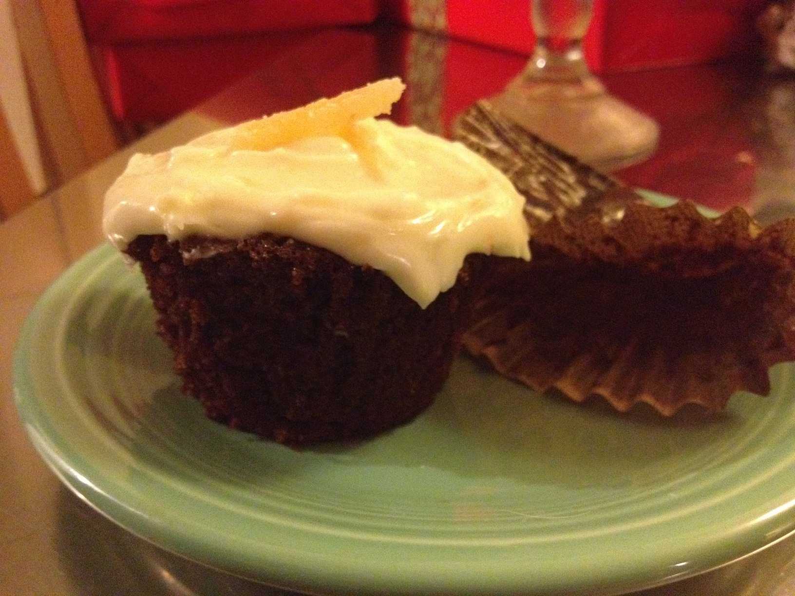 Yummy Gingerbread Stout Cupcpake