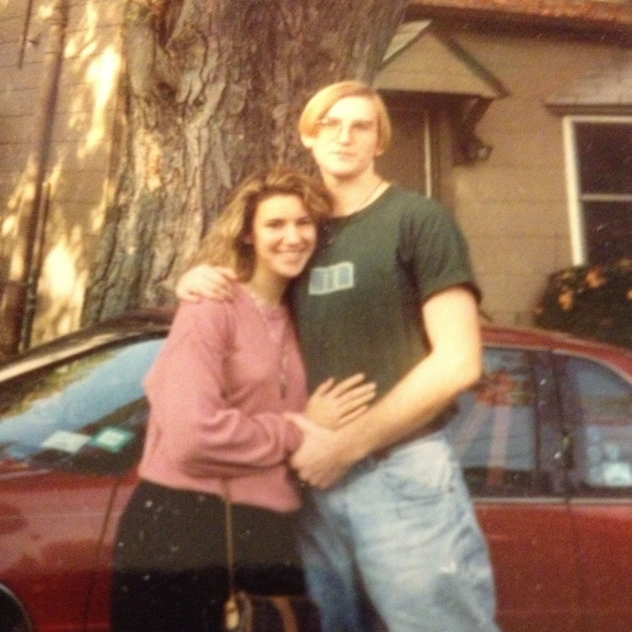 Brian and I, autumn 1993