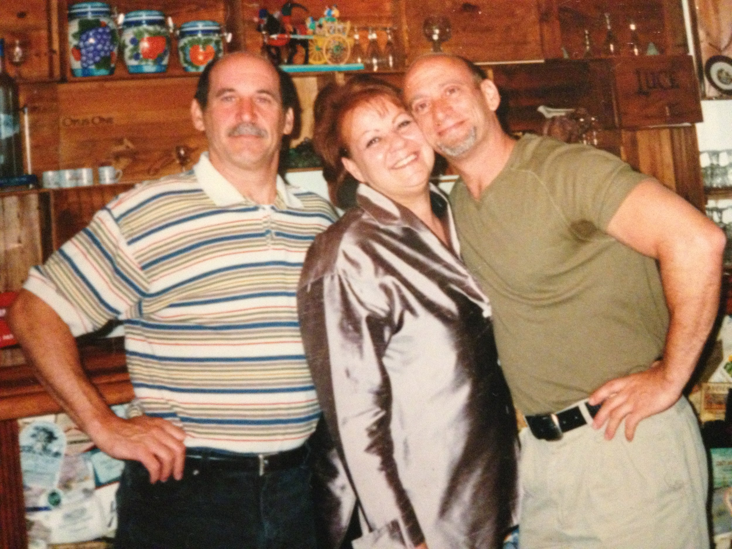 My Uncle Frank, my Mother Rita, and Uncle Sal