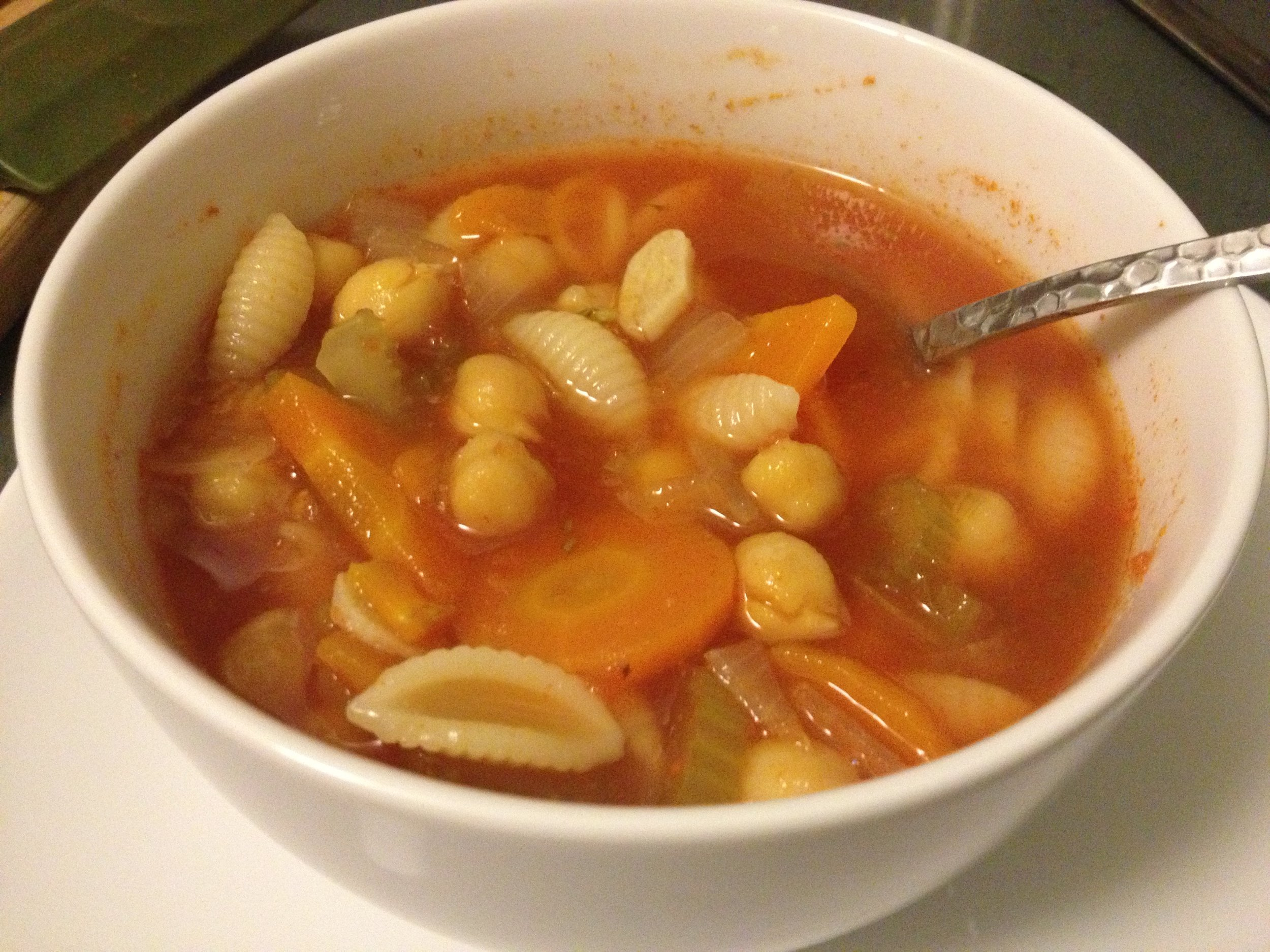 Chickpea Minestrone