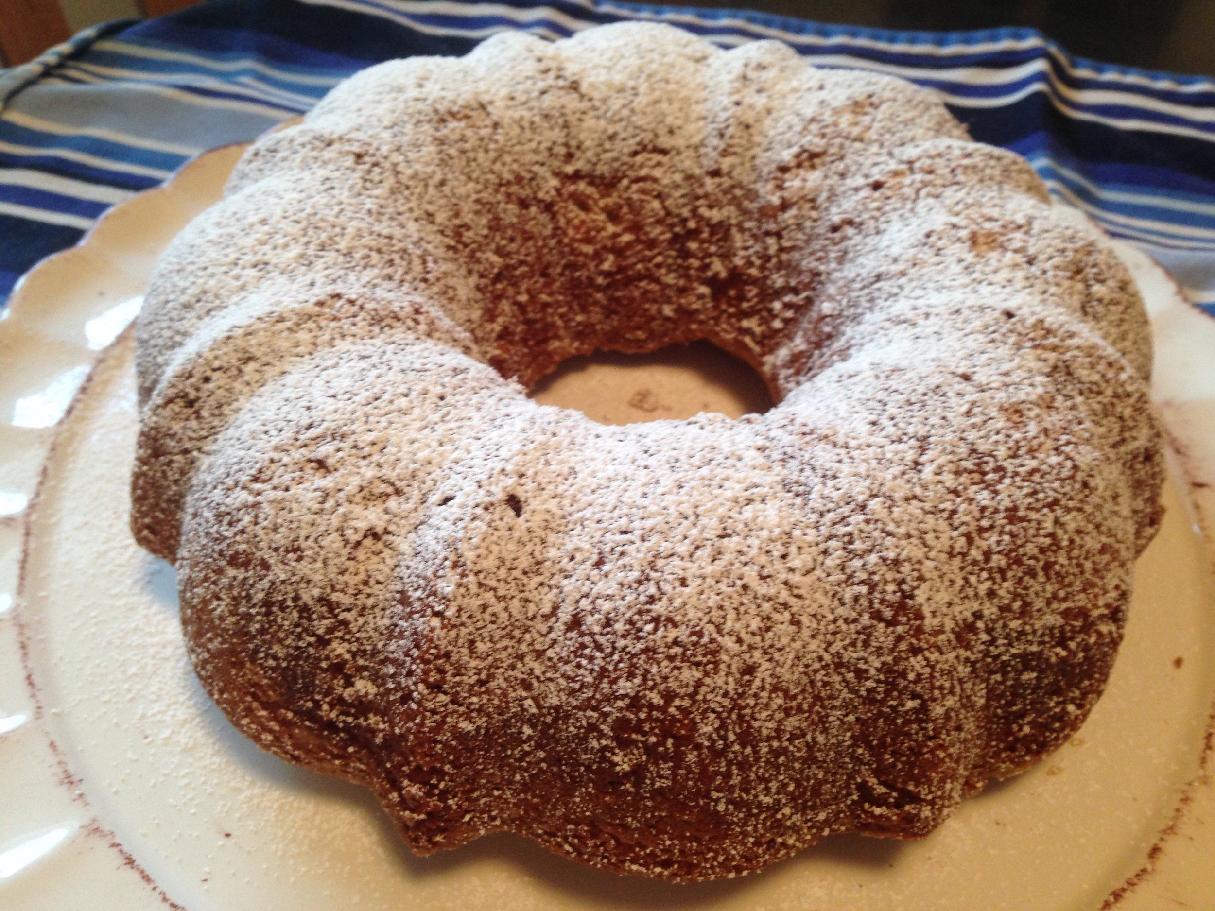 Buttermilk Vanilla Bean Pound Cake
