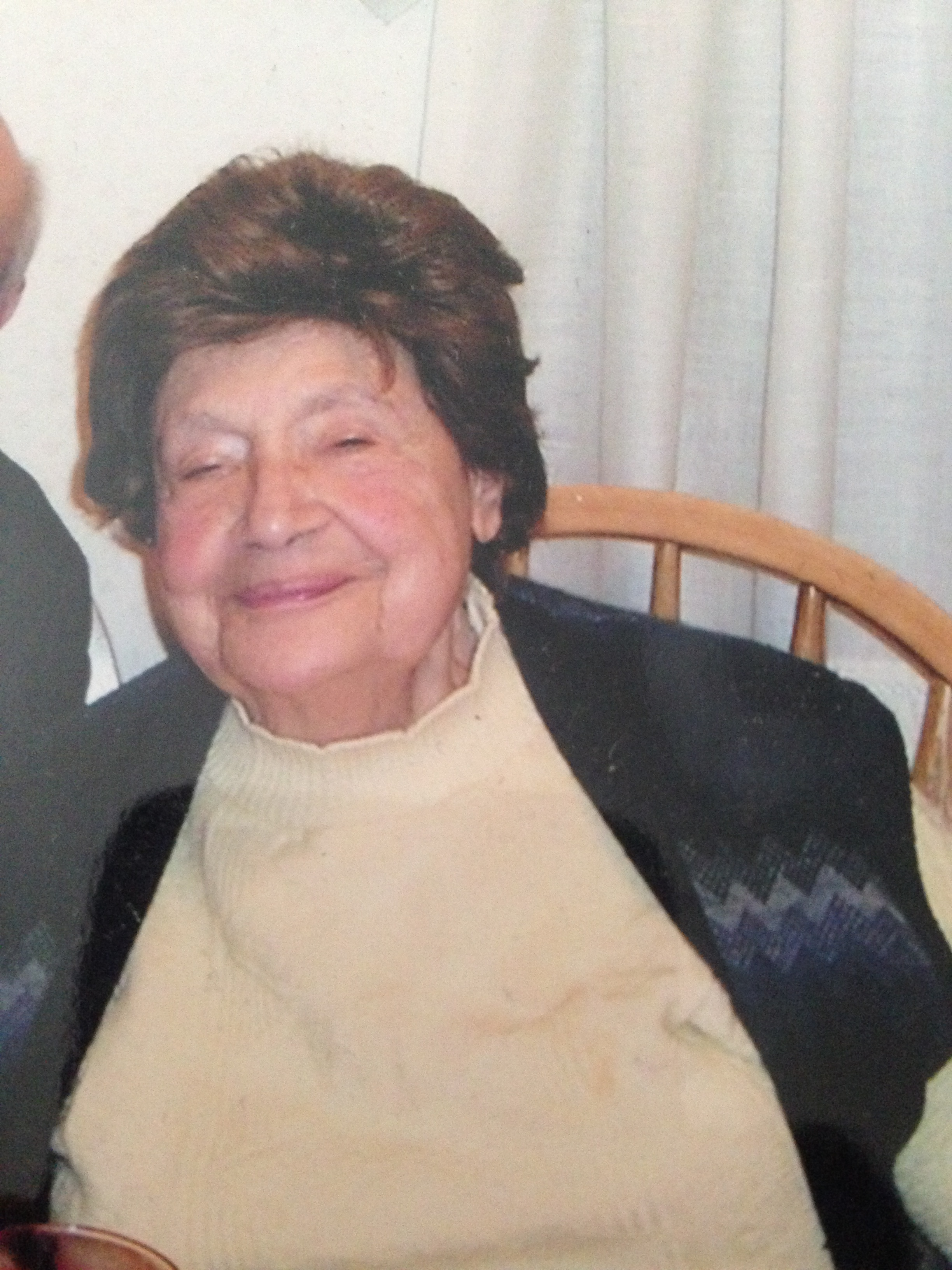 My Great Aunt Marge, just the way I will always remember her...smiling!