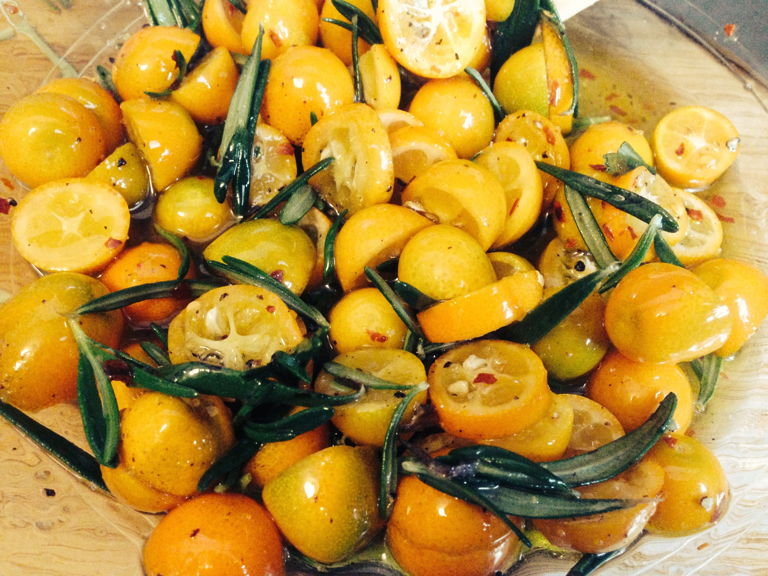 Kumquat and Rosemary Marinade