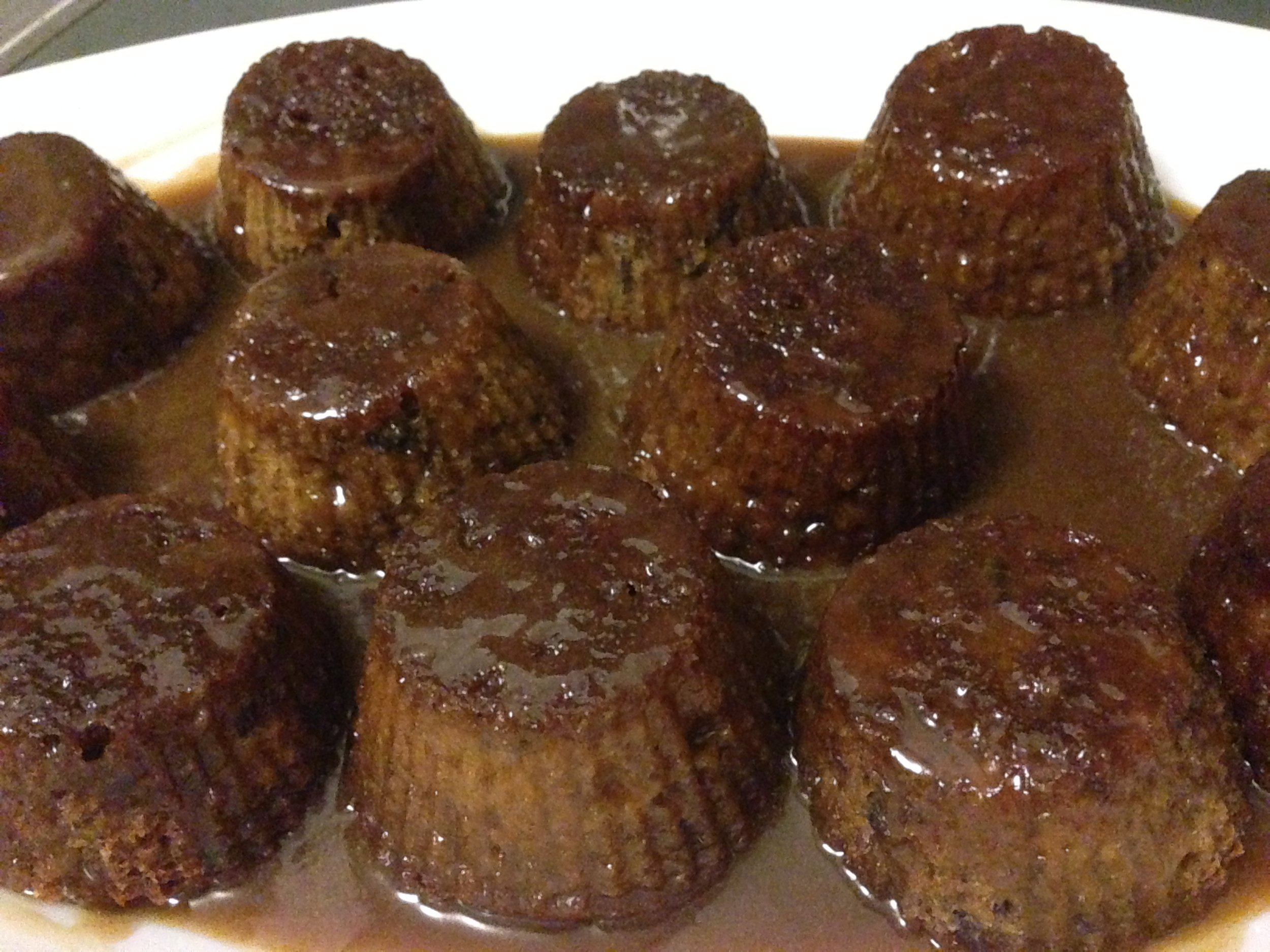 Sticky Toffee Date Cake - Ready to serve!