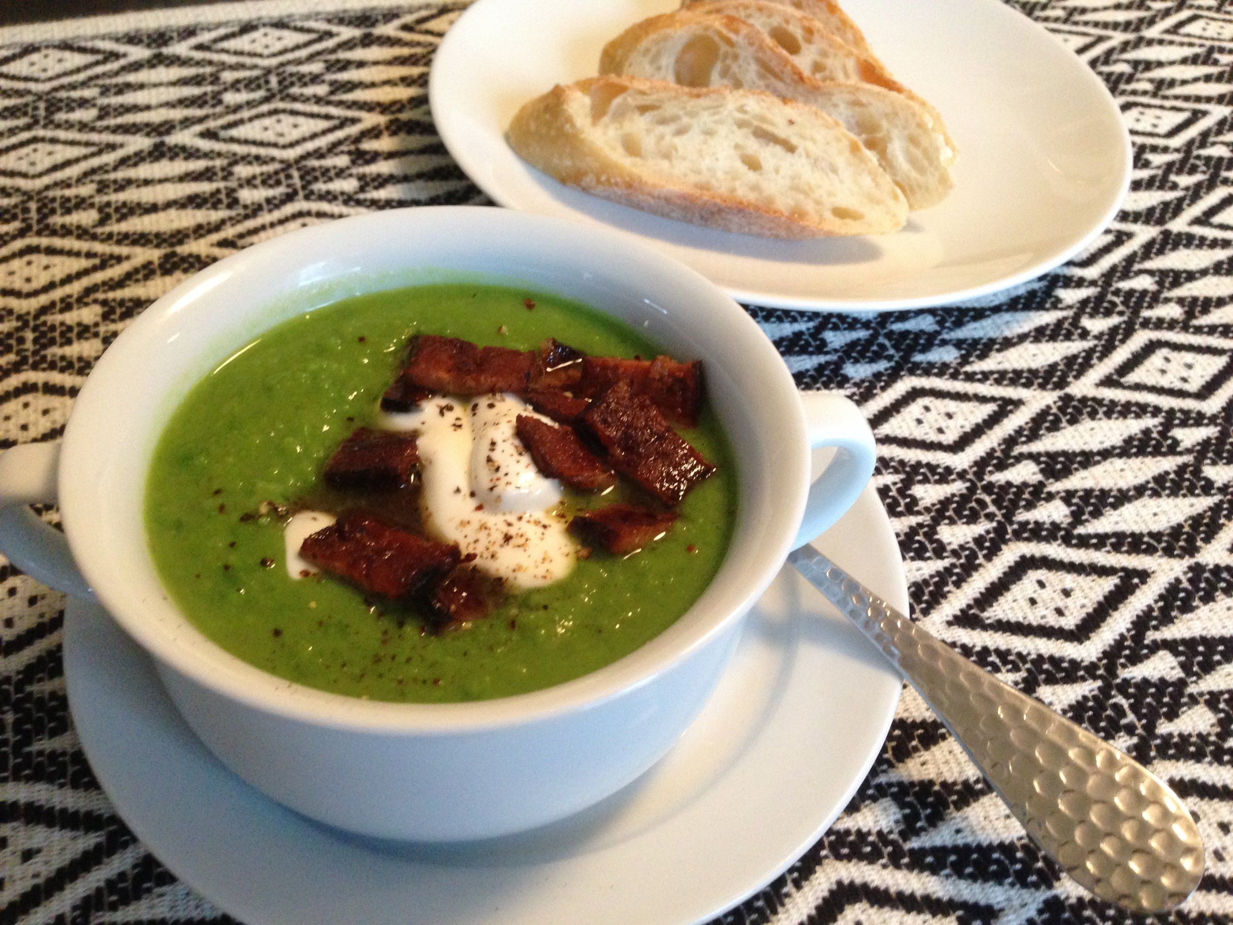 Spanish Pea Soup