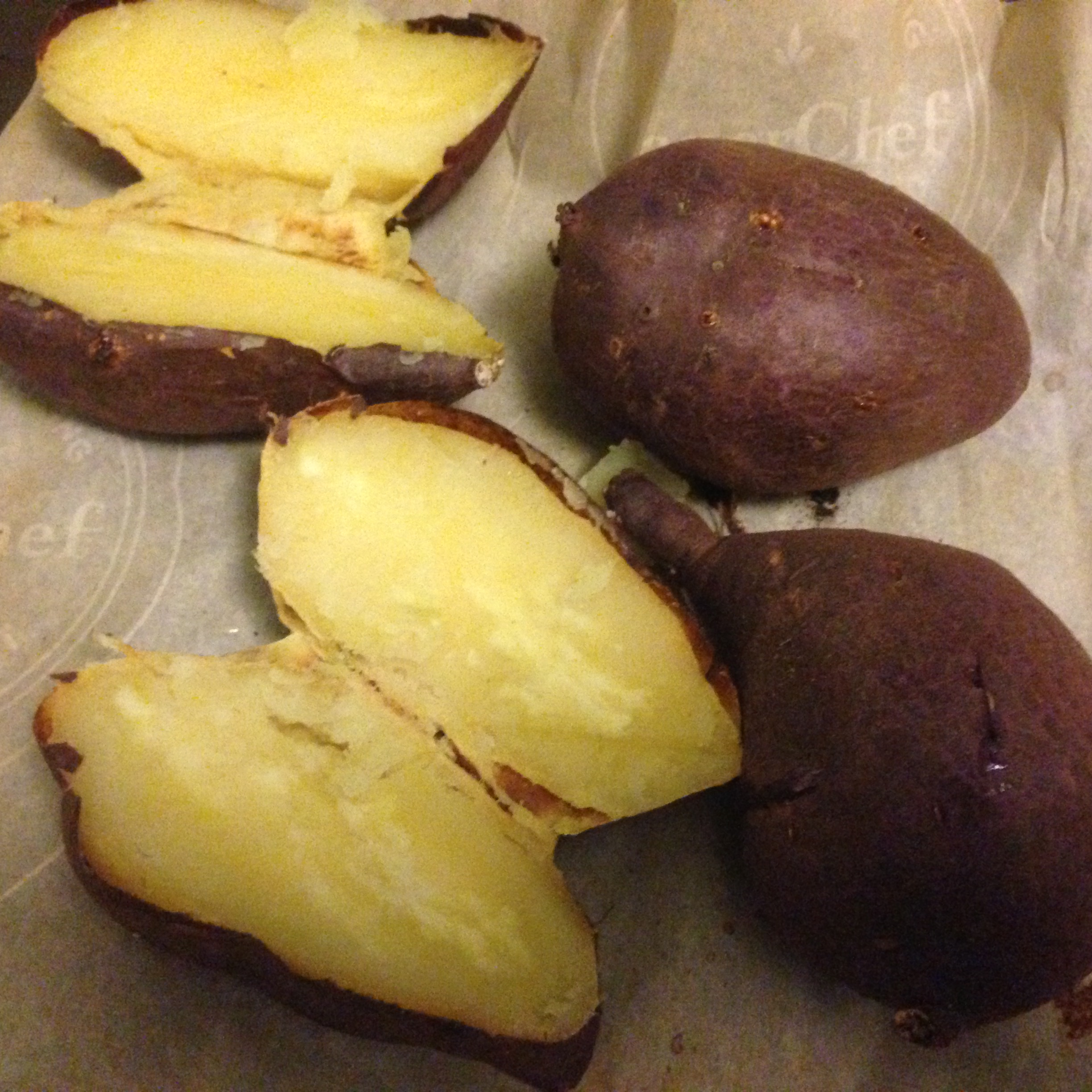Japanese Sweet Potatoes.