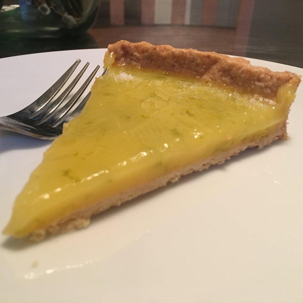 Slice of Margarita Tart