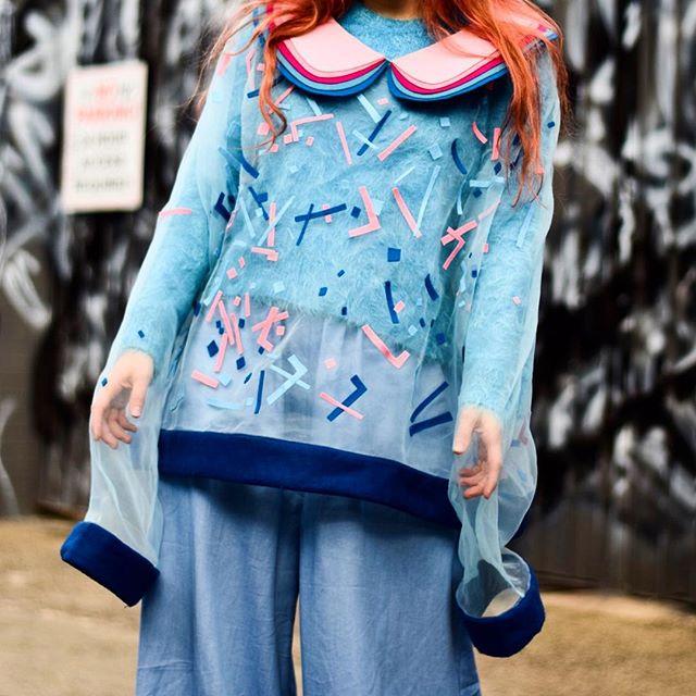 Something sweet to start back after the long weekend 💖💙 #confetti #sweaterweather . . . .  #fashion #streetstyle #fashionweek #sydney #stackson #blogger #fashionblogger #photgraphy #design #designer #style #styleblogger #designer #emergingdesigner #sydney
