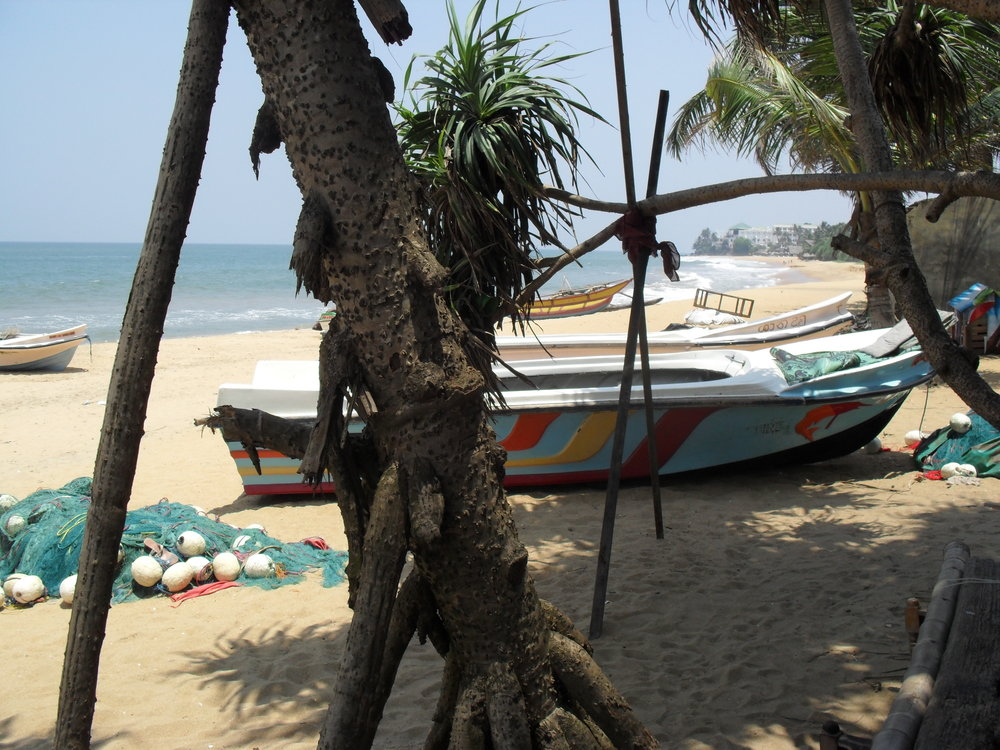 The beach prior to the 2015 storms