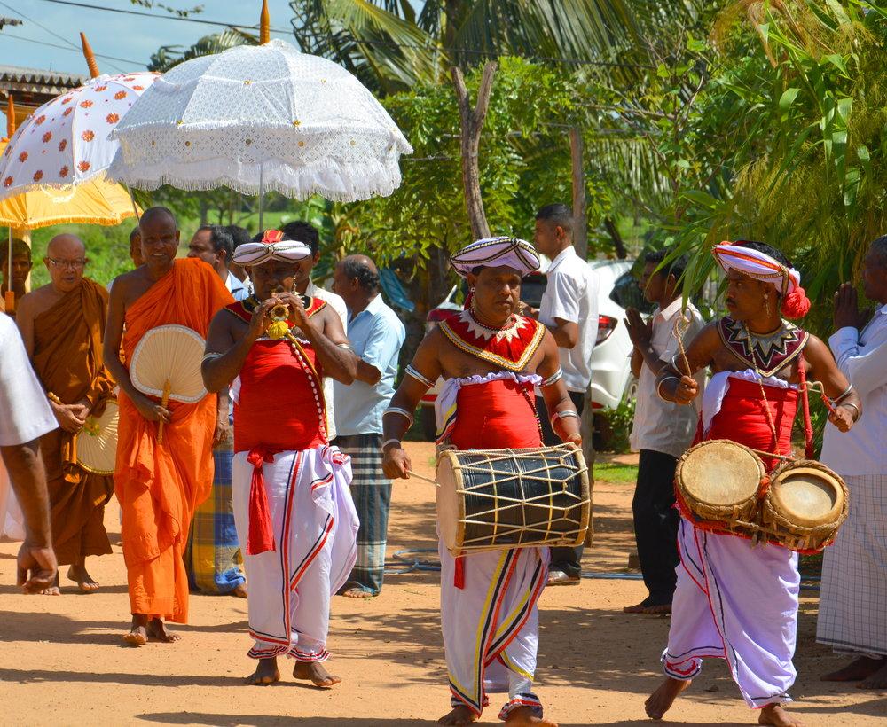 GapYear monks & drums .JPG