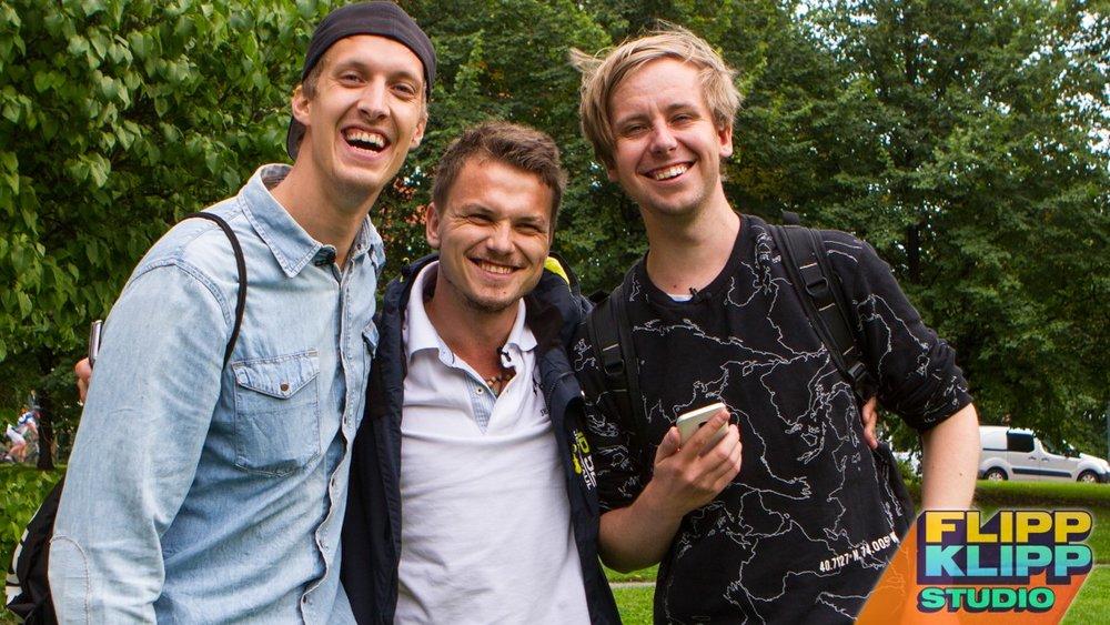 Jonas, meg og Henrik :)