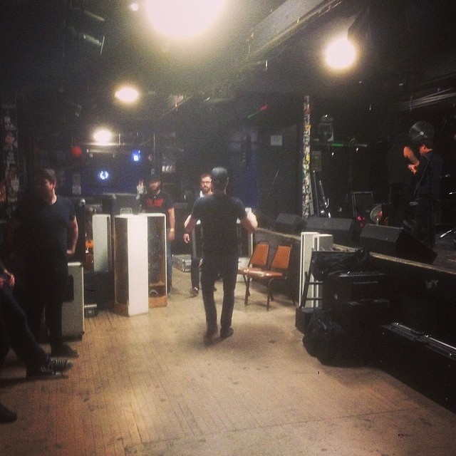 LOAD IN, 2 hours til game time with a killer lineup tonight at El Corazon in Seattle. It's not to late to get in on this! We go on at 7pm tonight! Much love.