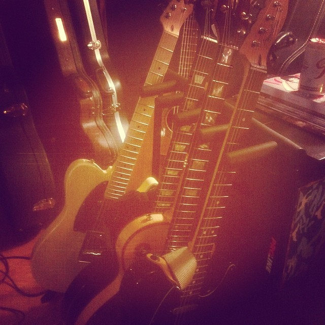 Spending this weekend in the studio to finish the album.