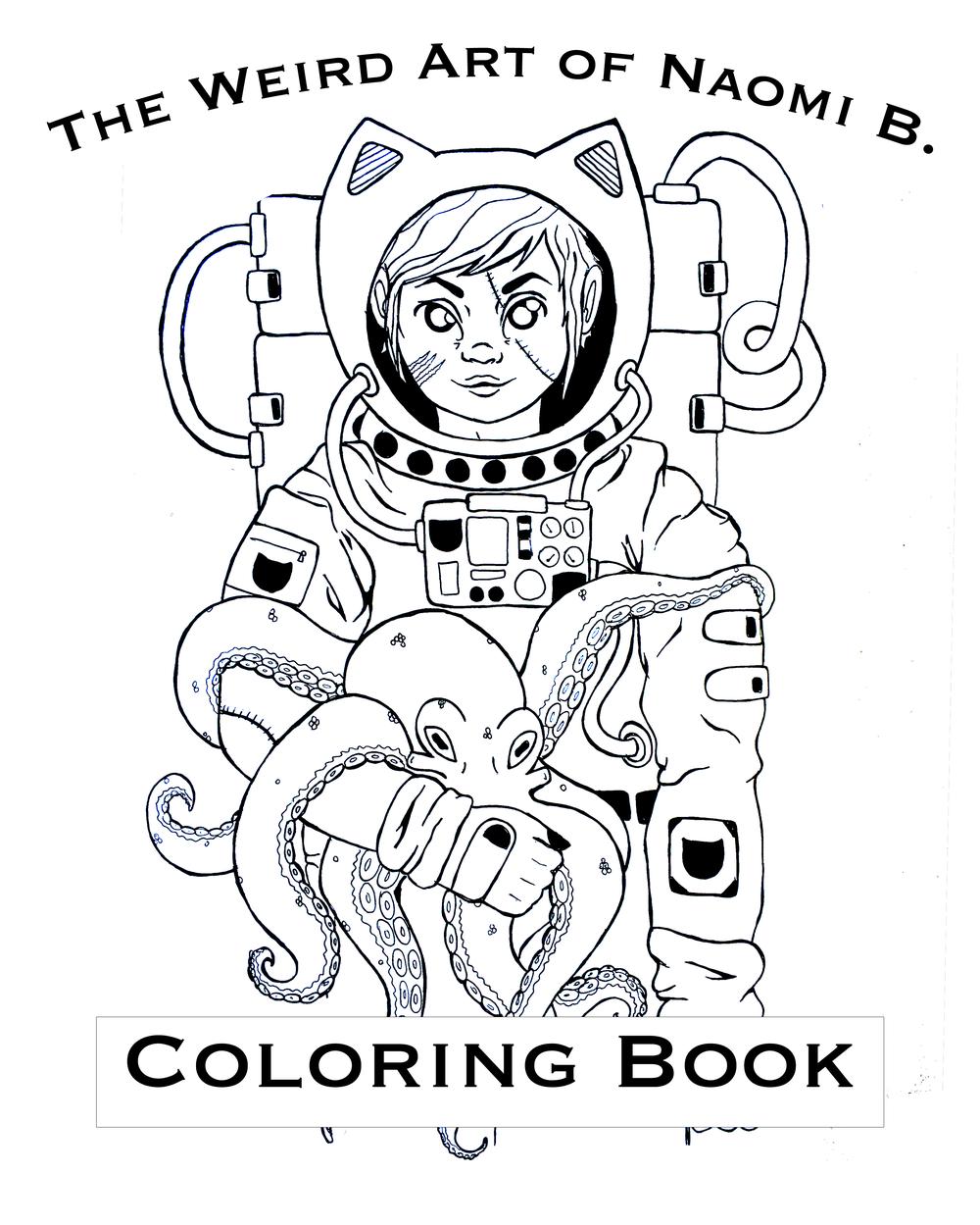 coloring books naomi b - Weird Coloring Books