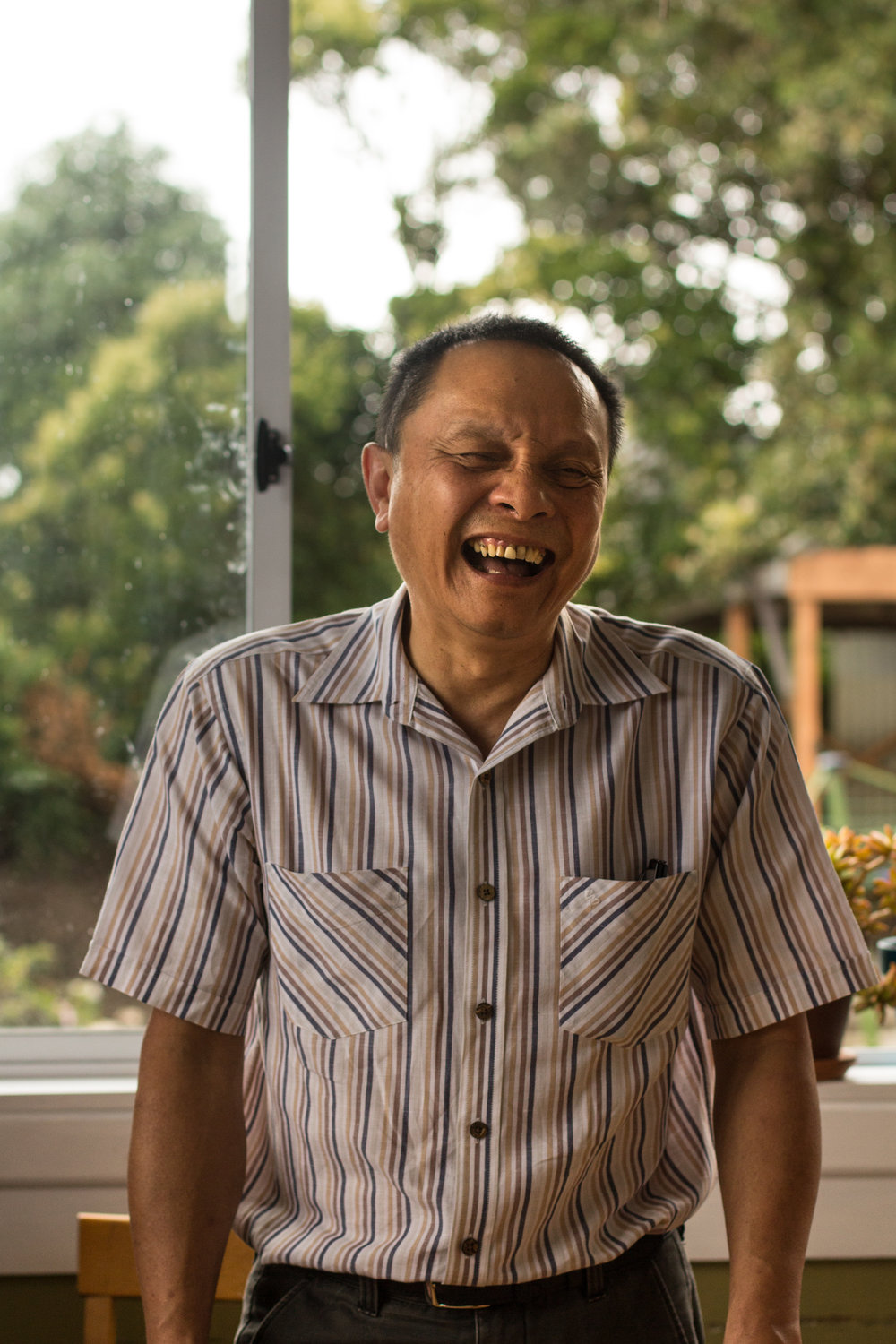 Han Huang, an immigrant from Malaysia, features in the doco