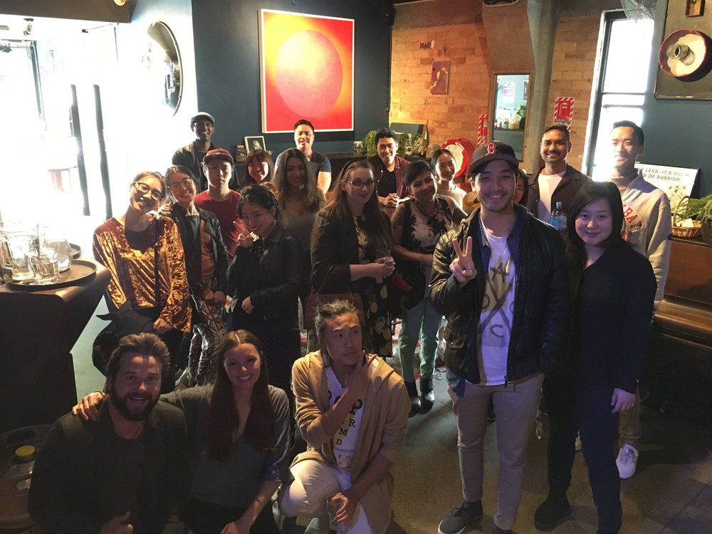 The NZFC hosted an Asian film night at The Basement in 2017.
