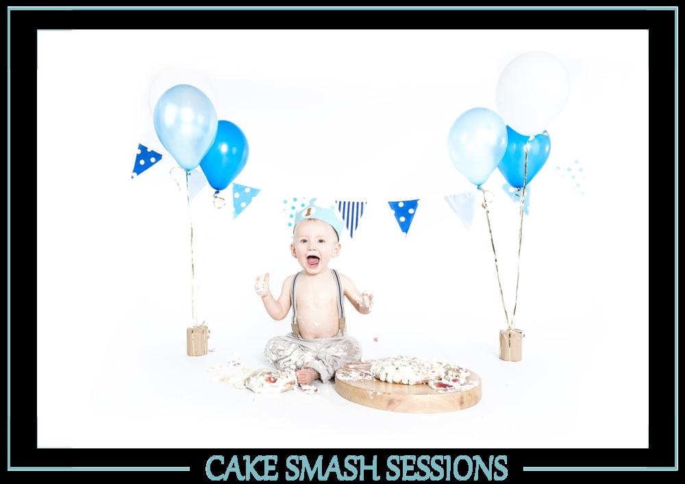 Explore The Cake Smash Sessions