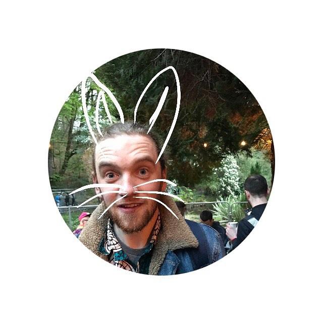 Happy Easter.  Liam McBabe  #happyeaster #heroesinhiding #festival #dublin #sunday #mass #reallifejesusbunny