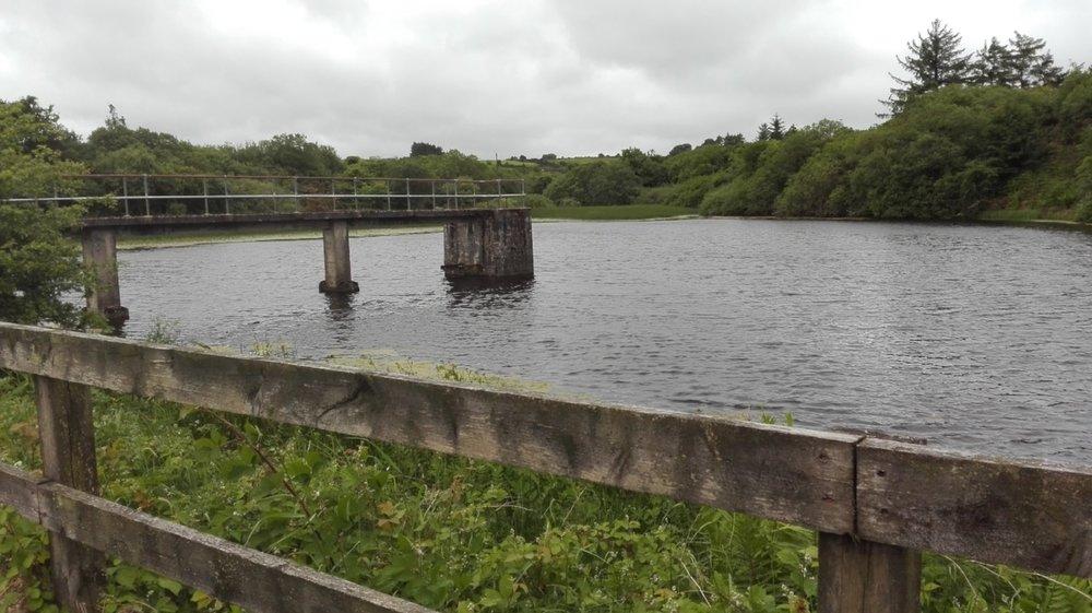 Fig.2.  Reservoir in Knockalough