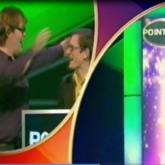 Paul and Tom Mayne from David Cronenberg's Wife find television gameshow success....