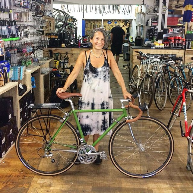 Celia and her full custom Nikor #celia #nikor #custombike