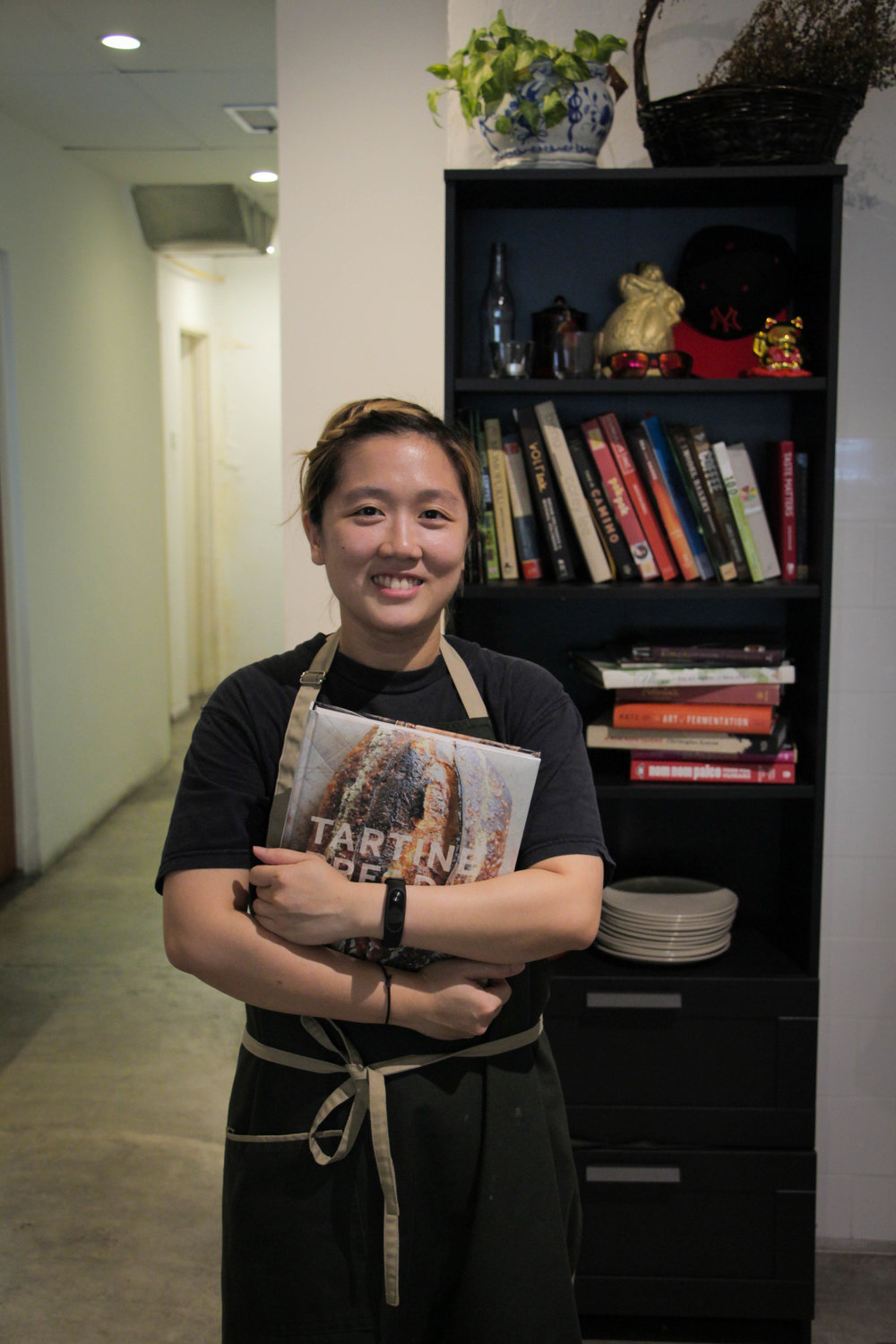 Yeoh Yuin Lim   Chef | When she's not cooking your food, she's an avid baker by night.