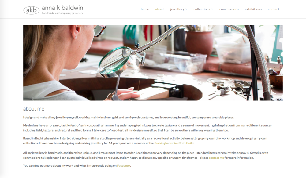 PRODUCT & JEWELLERY BUSINESS WEBSITE