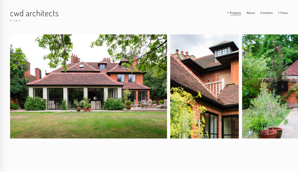 OXFORDSHIRE ARCHITECTS BUSINESS WEBSITE
