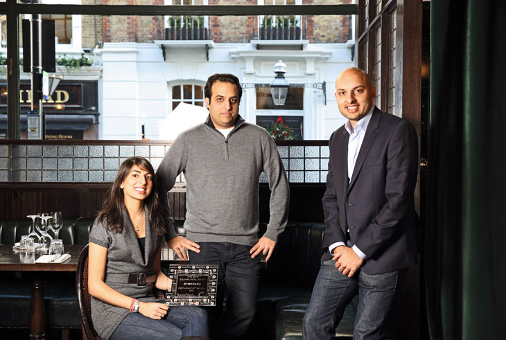 Gymkhana wins BMW Square Meal Restaurant of the Year award 2014