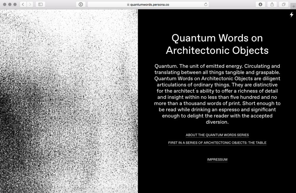 Website online: https://quantumwords.persona.co