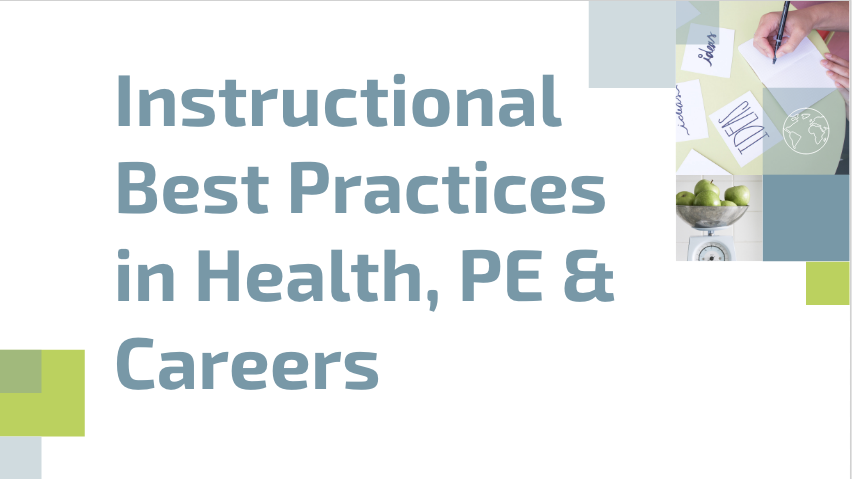 Special Education Best Practices And >> Instructional Best Practice Health Pe Ilearn Collaborative