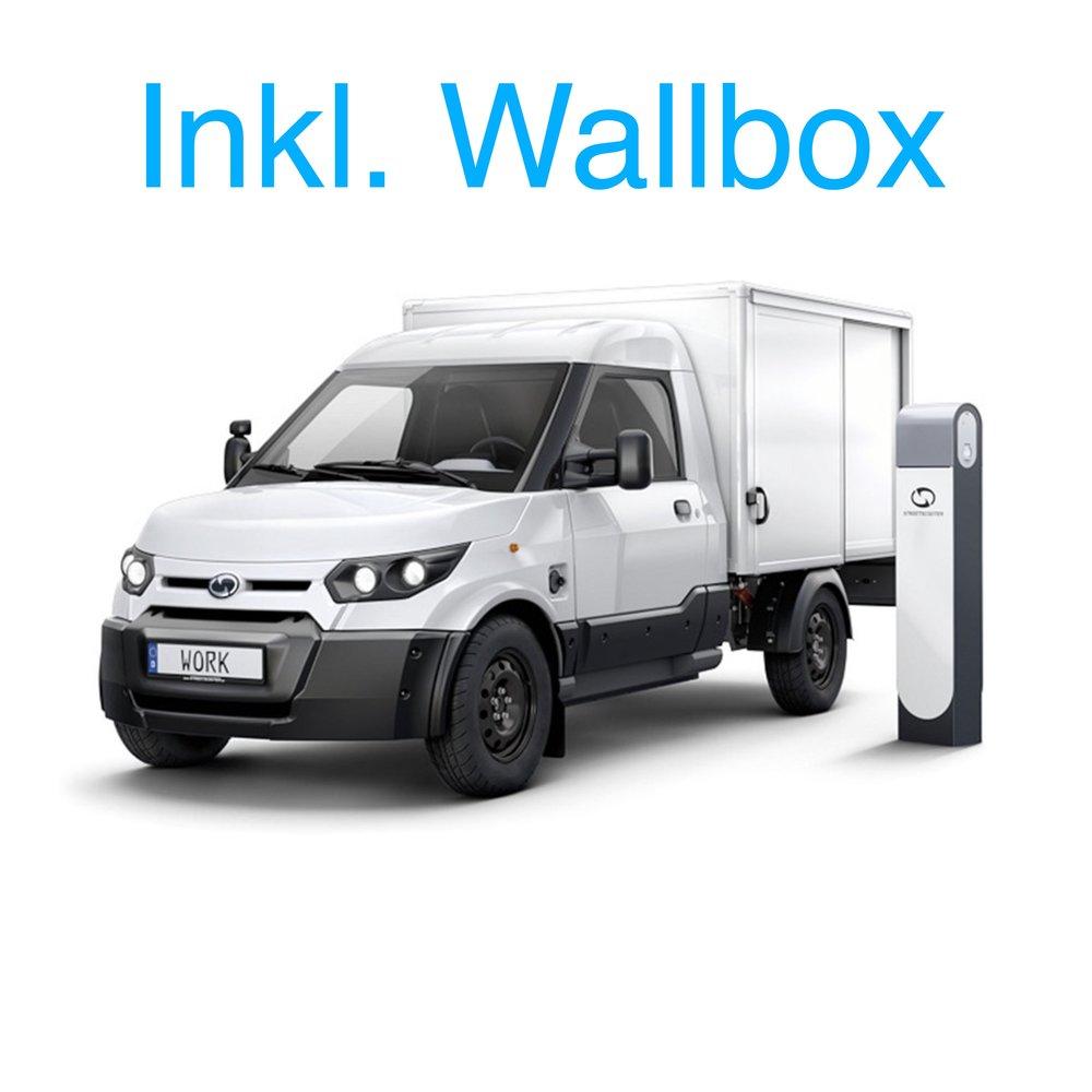 StreetScooter Work Box 99,00€ / Monat - *Nur Gewerbekunden (ohne Freiberufler)*alle Werte zzgl. der jeweiligen Umsatzsteuer
