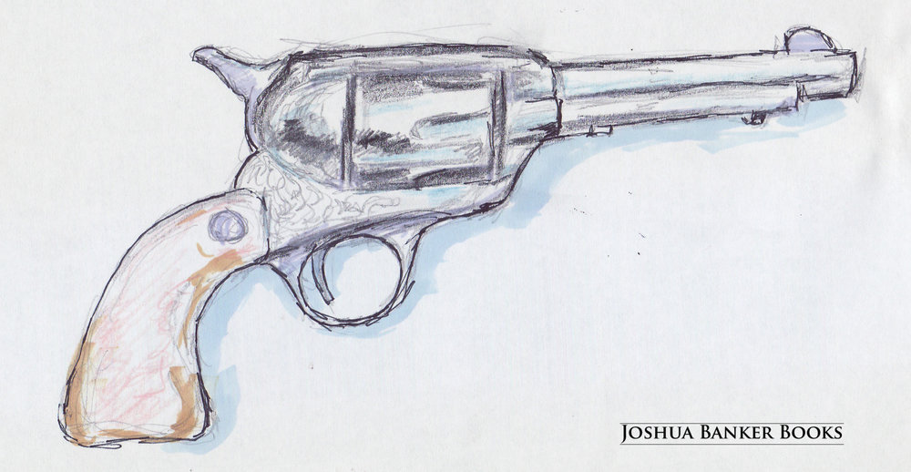 Raw Sketch: Cal's Revolver