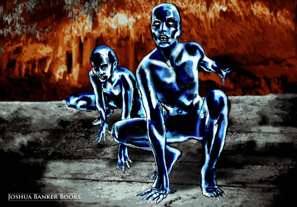 Digital Sketch: The Black Children of Eusen Sinie