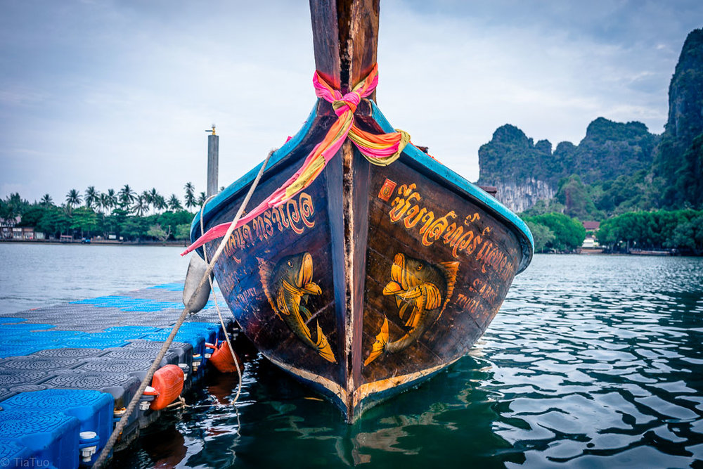 Traditional boat, used fo transporting people as well as for tours around the nearby islands