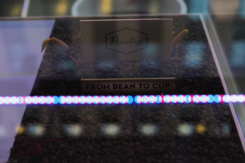 Paulig beans from bean to cup