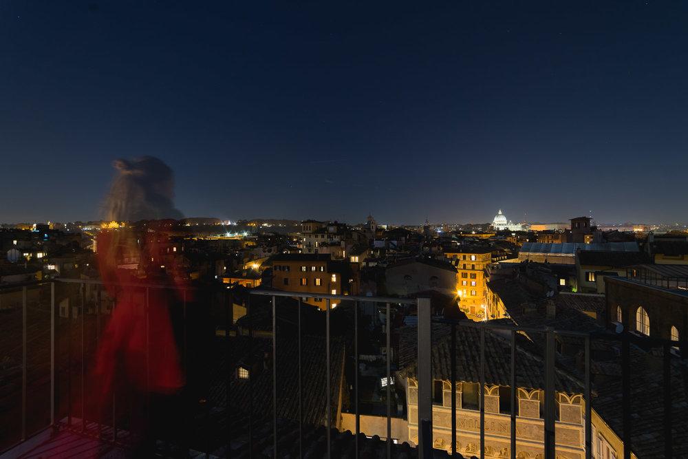 Ghost at Rome night, @snapzak
