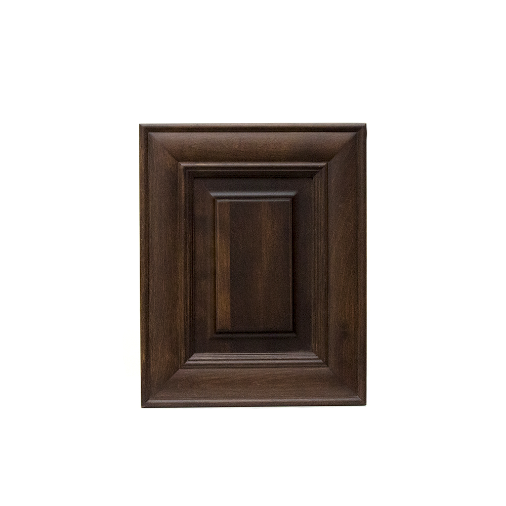 Square raised panel cabinet door, birch 45-9-j