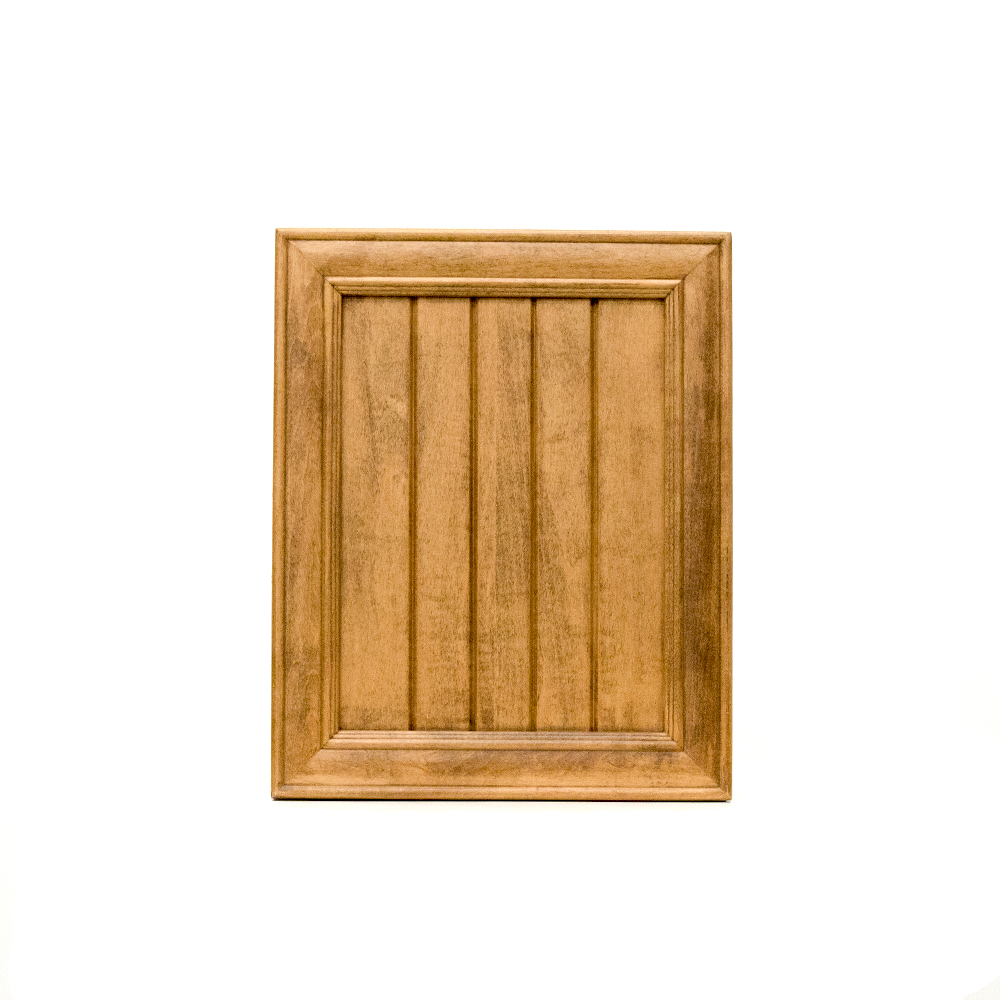 Beaded recessed panel cabinet door, maple m1-r3r-p71