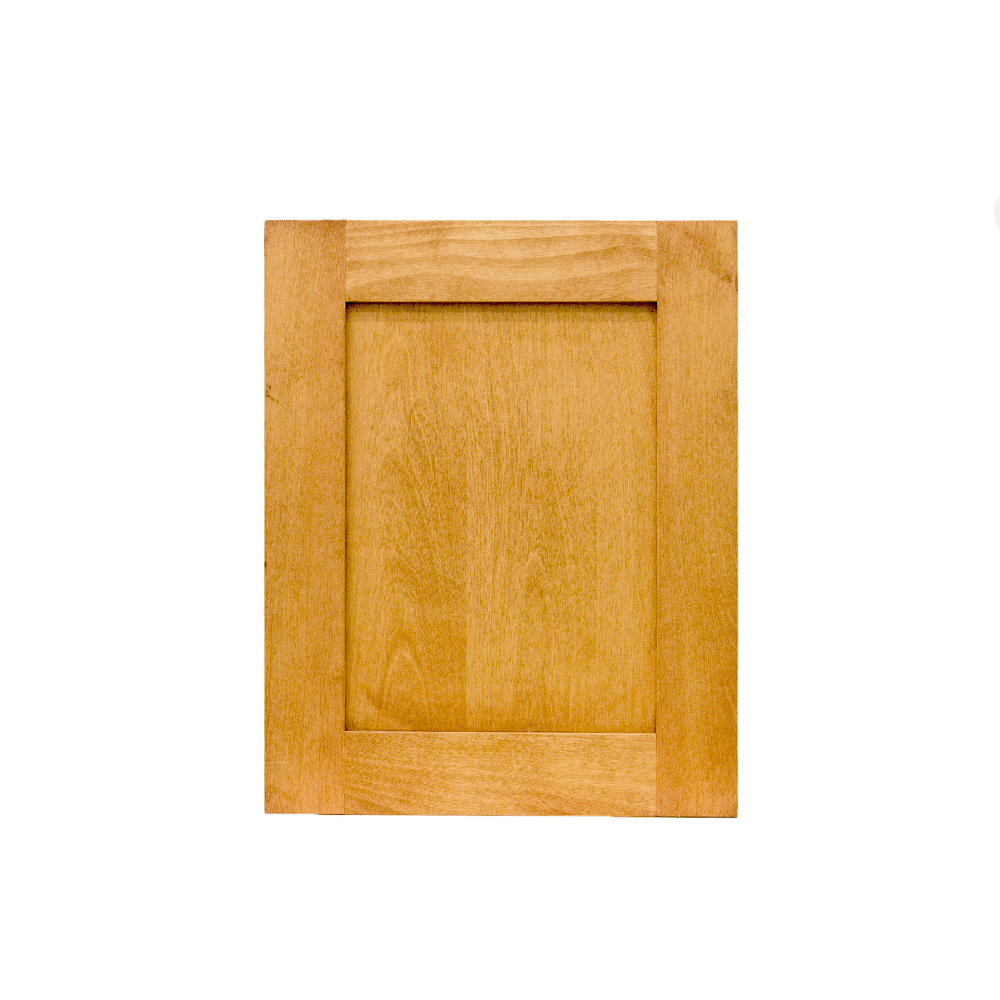 Shaker/mission recessed panel cabinet door, birch 211-02-05q