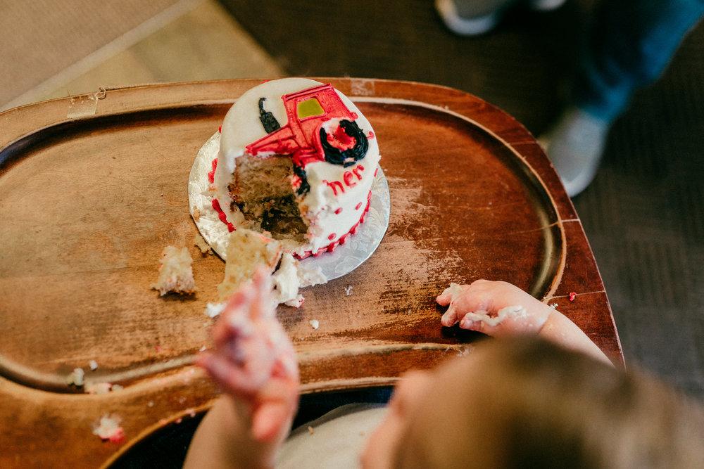 My sweet nephew and Godson, Turner, turned one and we celebrated him.