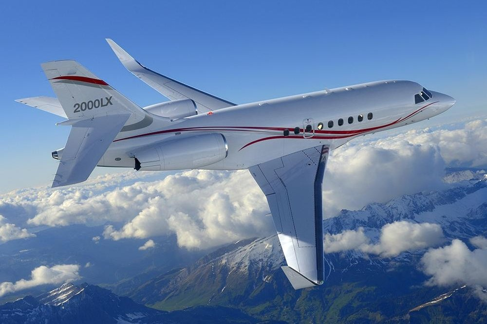 Falcon 2000LX File Photo