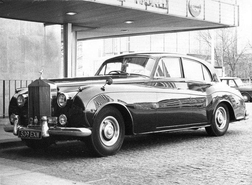 Stella Scordellis Rolls Royce Silver Cloud 1963