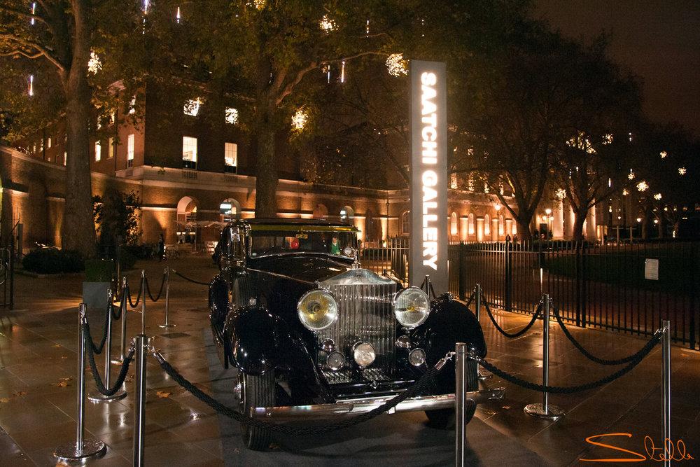 Inside Rolls-Royce Saatchi Gallery Stella Scordellis