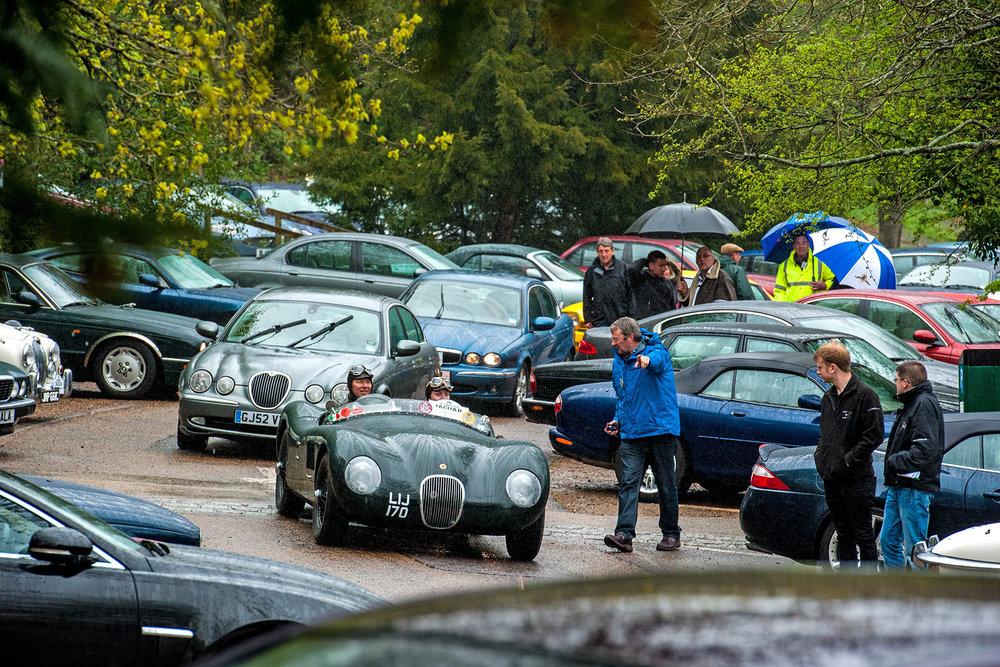 Jaguar Car Run 2015