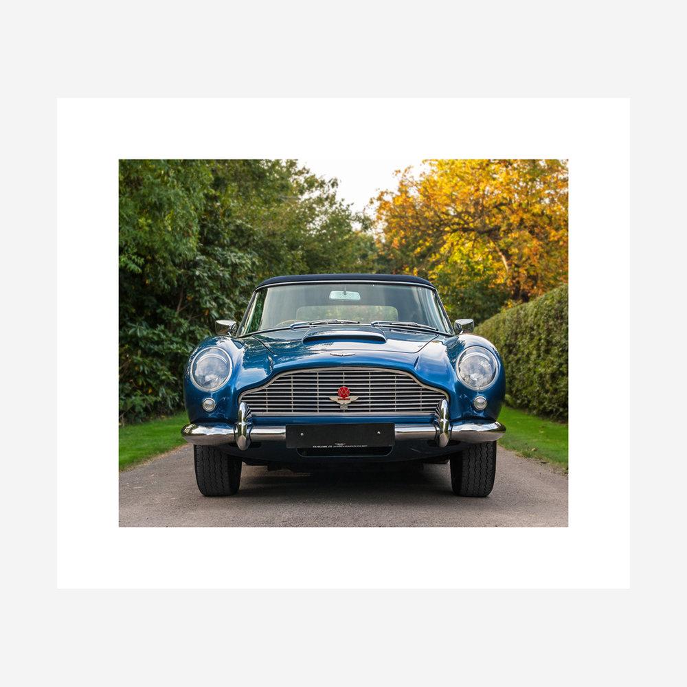 "Aston Martin DB5 28"" x 24"""