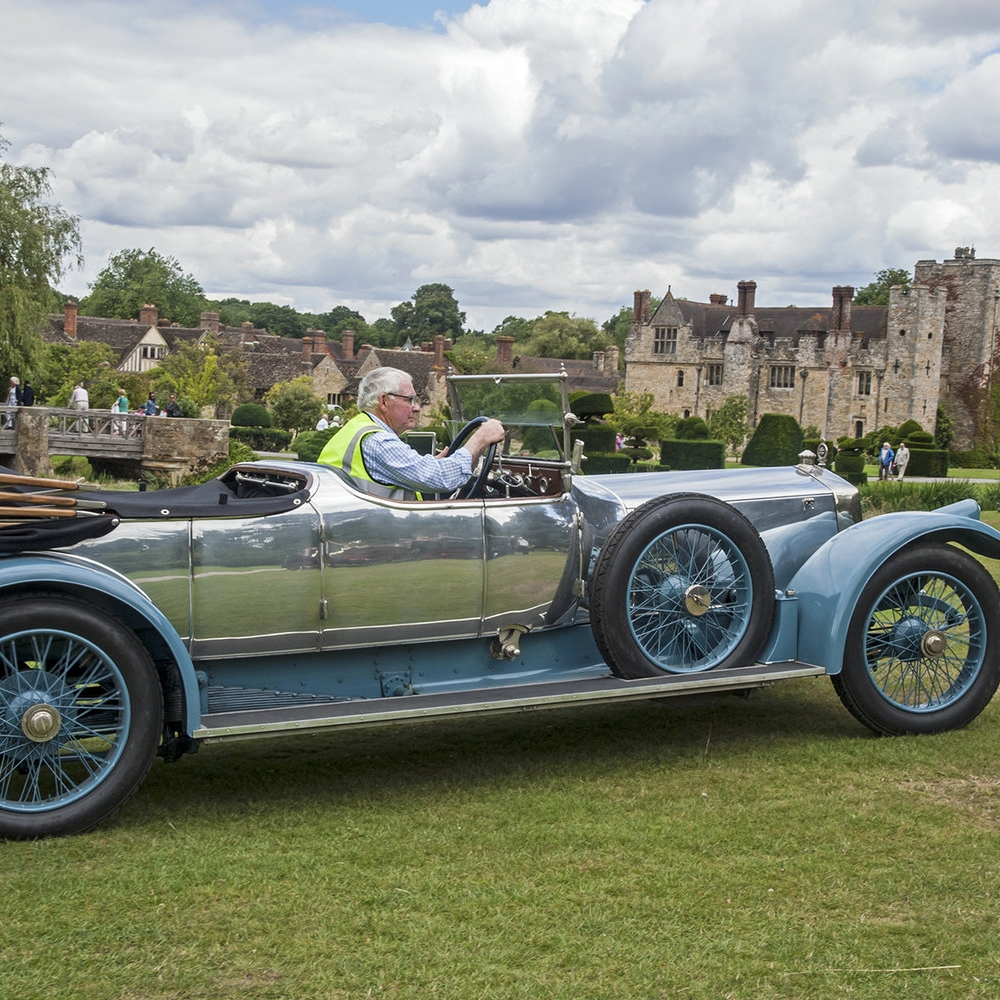 Best of West Kent Veteran Car Run 2015 at Hever Castle Kent