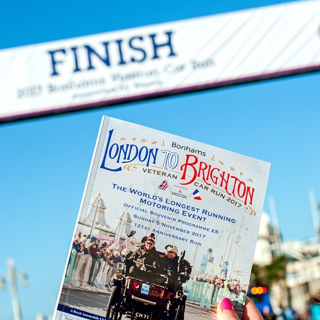Bonhams London to Brighton Veteran Car Run 2017