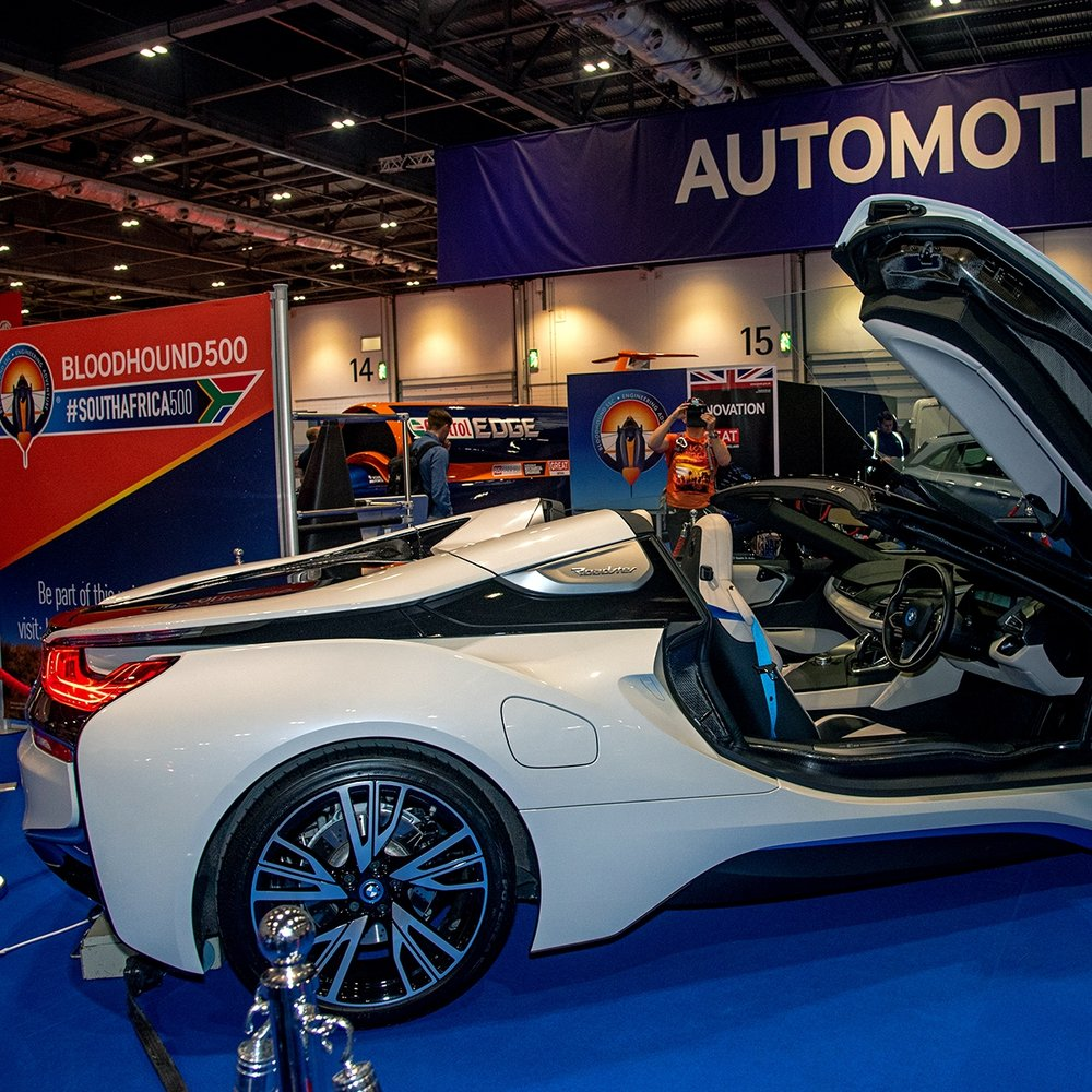 The London Motor Show 2018